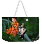 Two-tailed Swallowtail Weekender Tote Bag