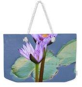 Two Tall Water Lilies Weekender Tote Bag