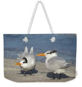 Two Terns Watching Weekender Tote Bag