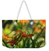 Two Tiger Lillies...   # Weekender Tote Bag