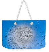 Two Tone Vortex Weekender Tote Bag