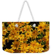 Two Toned Yellow Blooms Weekender Tote Bag
