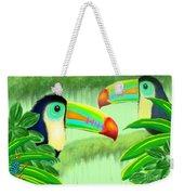 Two Toucans Weekender Tote Bag