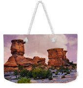 Two Towers Weekender Tote Bag