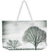 Two Trees In A Field Weekender Tote Bag
