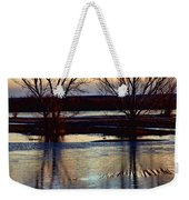 Two Trees In The Bosque Weekender Tote Bag