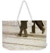 Two Victorian Men Walking Weekender Tote Bag