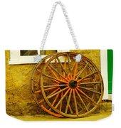 Two Wagon Wheels Weekender Tote Bag