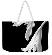 Two White Lilies Weekender Tote Bag
