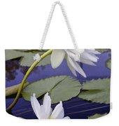 Two White Lilies Weekender Tote Bag