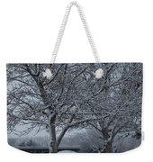Two Winter Trees Weekender Tote Bag