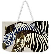Two Zebras Weekender Tote Bag