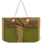 Ty Cobb Circa 1911 Weekender Tote Bag