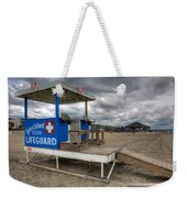 Tybee Island Lifeguard Stand Weekender Tote Bag by Peter Tellone