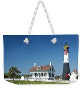 Tybee Island Lighthouse Georgia Weekender Tote Bag
