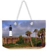 Tybee Island Lighthouse Weekender Tote Bag
