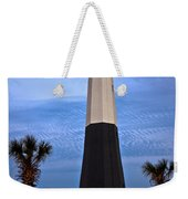Tybee Light And Palms Weekender Tote Bag