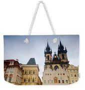 Tyn Church In Prague Weekender Tote Bag