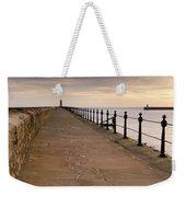 Tynemouth North Pier Weekender Tote Bag