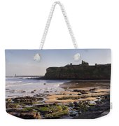Tynemouth Priory And Castle Across King Edwards Bay Weekender Tote Bag