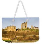 Tynemouth Priory And Castle Weekender Tote Bag