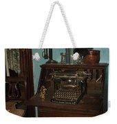 Type Something Weekender Tote Bag