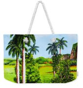Typical Country Cuban Landscape Weekender Tote Bag
