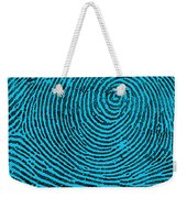 Typical Whorl Pattern, 1900 Weekender Tote Bag by Science Source
