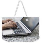 Typing Weekender Tote Bag