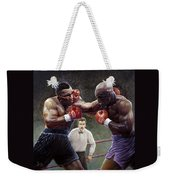Tyson/holyfield Weekender Tote Bag