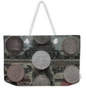 U S History Of Silver Dollars Weekender Tote Bag