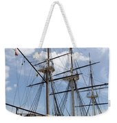 U S S  Constellation Weekender Tote Bag
