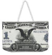 U. S. Silver Certificate 1899 Weekender Tote Bag