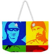 U2 Weekender Tote Bag by John  Nolan