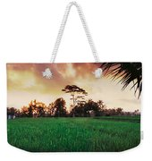 Ubud Rice Fields Weekender Tote Bag