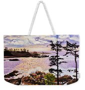 Ucluelet In December Weekender Tote Bag
