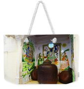 Udaipur City Palace Rajasthan India Queens Kitchen Weekender Tote Bag
