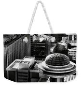 Ufo Parking Lot Weekender Tote Bag