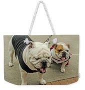 Uga And Cindy Weekender Tote Bag
