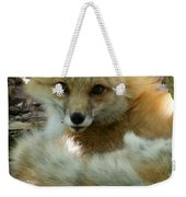 Uh Oh Thought The Fox Weekender Tote Bag