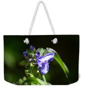 Ultra Violet Wildflower Weekender Tote Bag
