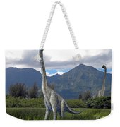 Ultrasaurus In Meadow Weekender Tote Bag