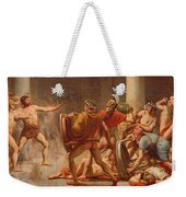 Ulysses Revenge On Penelopes Suitors Weekender Tote Bag