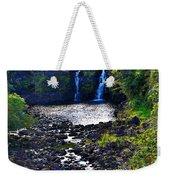 Umauma Falls I Weekender Tote Bag