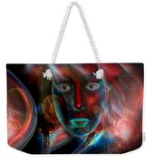 Umbilical Connection To A Dream  Weekender Tote Bag by Otto Rapp