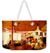 Umbrella Fruitstand - Autumn Bounty Weekender Tote Bag