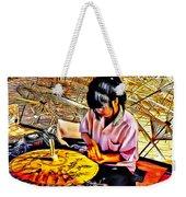 Umbrella Maker - Paint Weekender Tote Bag