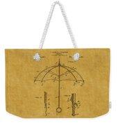 Umbrella Patent 1 Weekender Tote Bag