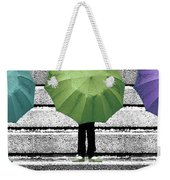 Umbrella Trio Weekender Tote Bag