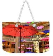 Umbrellas At Palazzo Shops Weekender Tote Bag